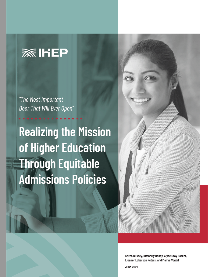 The Most Important Door That Will Ever Open: Realizing the Mission of Higher Education Through Equitable Recruitment, Admissions, and Enrollment Policies